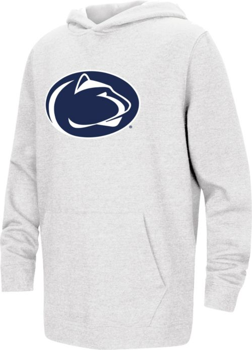 b3c98b7a201d Colosseum Youth Penn State Nittany Lions Pullover White Hoodie.  noImageFound. 1