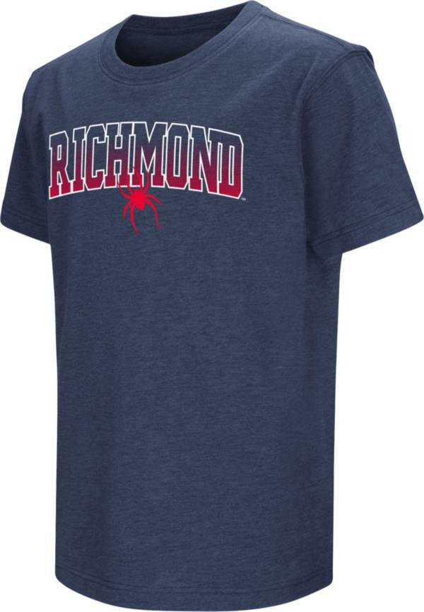 Colosseum Youth Richmond Spiders Navy Dual Blend T-Shirt product image