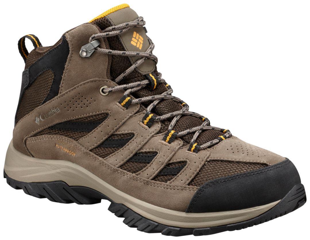 2d6d9b20b59 Columbia Men's Crestwood Mid Waterproof Hiking Boots