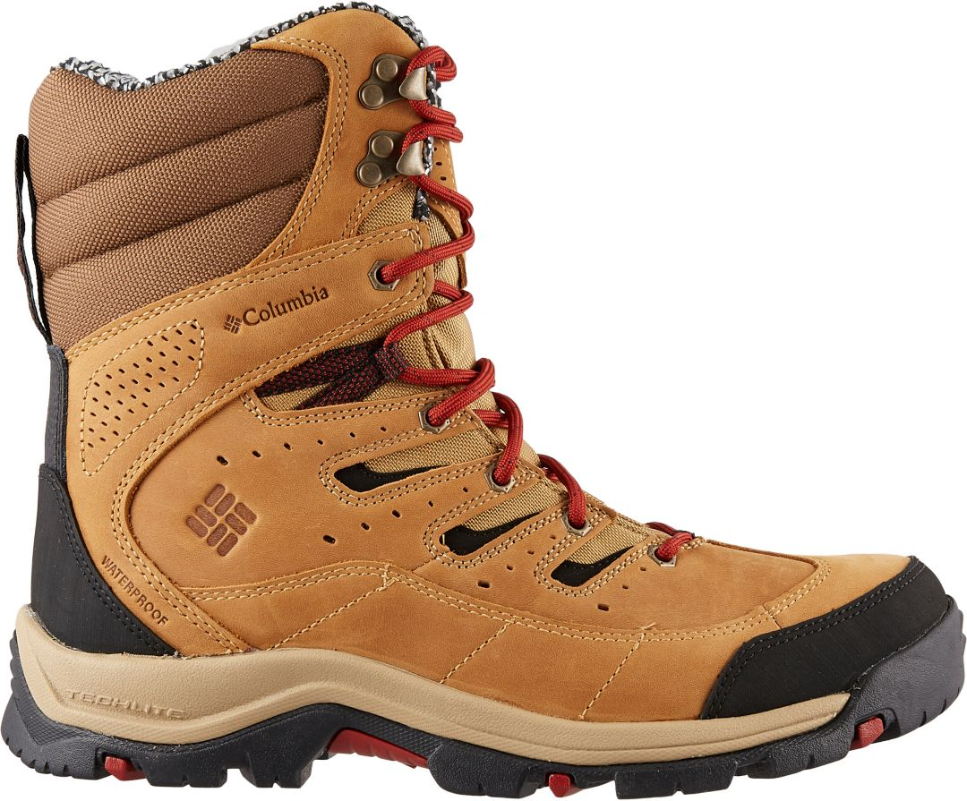c93504f4d3e Columbia Men's Gunnison Plus Leather Omni-Heat 200g Waterproof Winter Boots