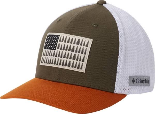 Columbia Men/'s Mesh Tree Ball Cap L//XL Flex Fit Delta Color