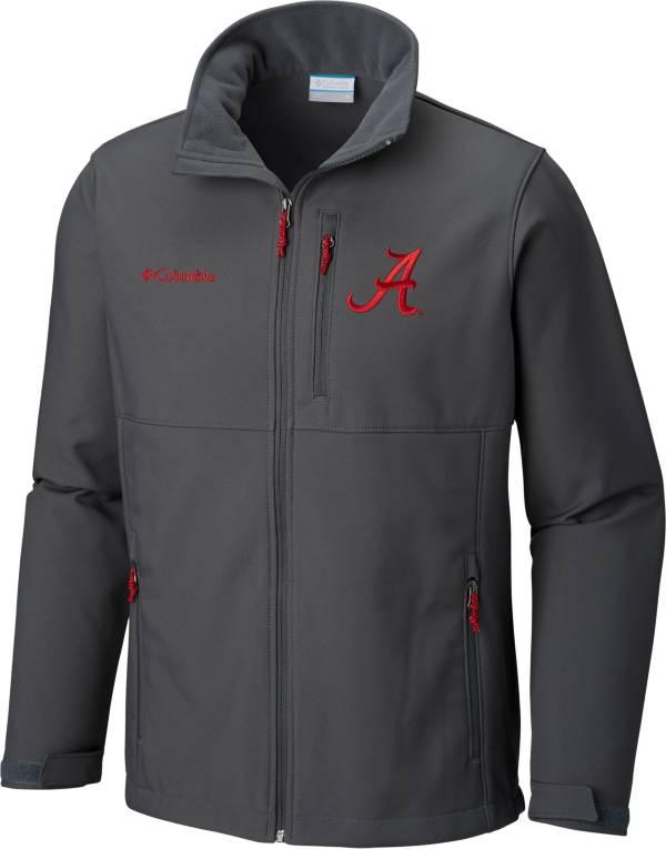Columbia Men's Alabama Crimson Tide Grey Ascender Jacket product image