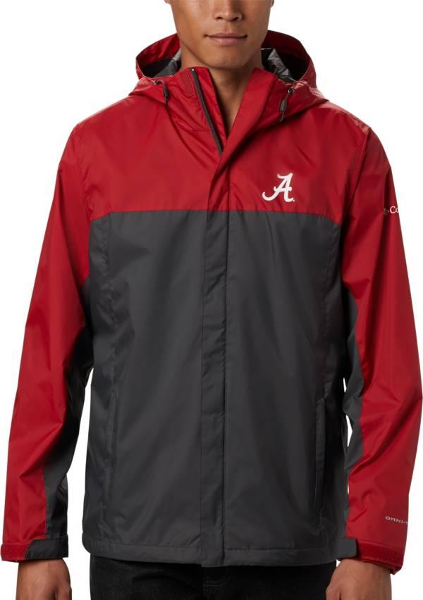 Columbia Men's Alabama Crimson Tide Red/Grey Glennaker Storm Jacket product image