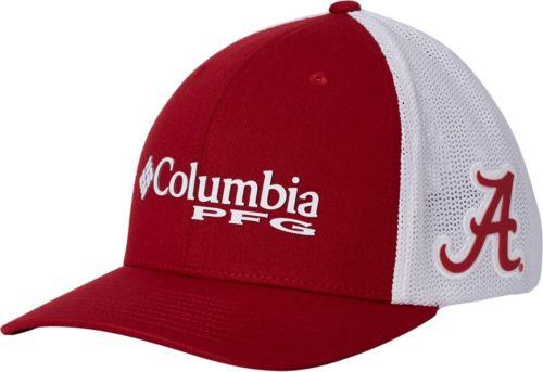 8482ac2524c Columbia Men s Alabama Crimson Tide Crimson White PFG Mesh Fitted Hat.  noImageFound. Previous
