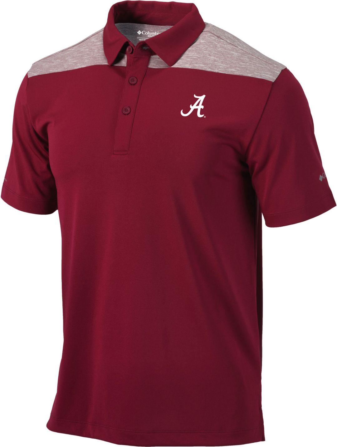 00ac195cf Columbia Men's Alabama Crimson Tide Crimson Utility Performance Polo.  noImageFound. Previous