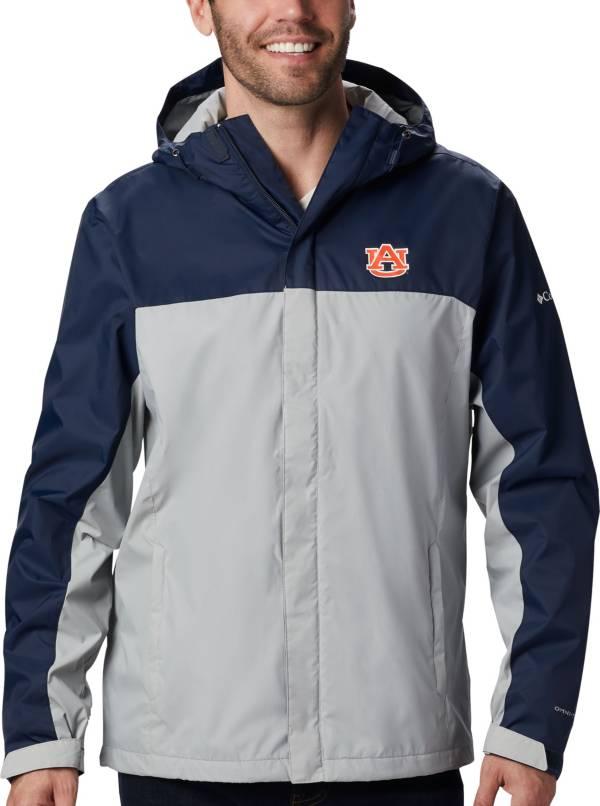 Columbia Men's Auburn Tigers Blue/Grey Glennaker Storm Jacket product image