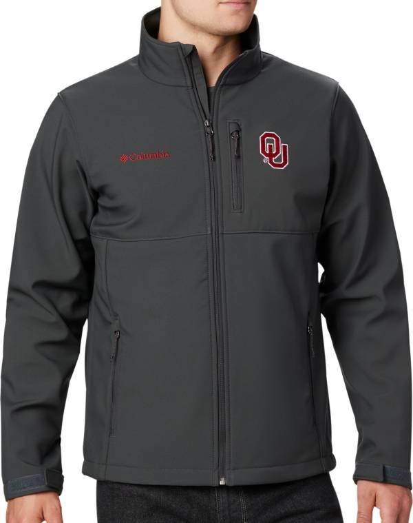 Columbia Men's Oklahoma Sooners Grey Ascender Jacket product image
