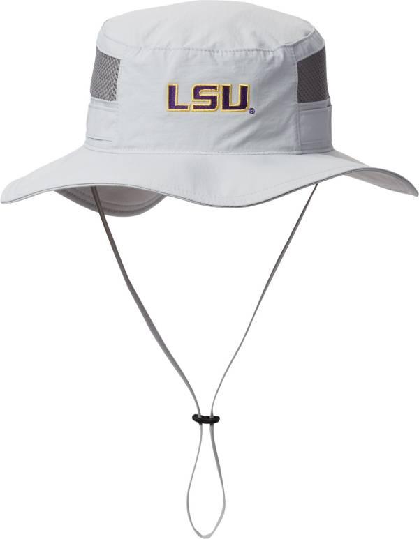 Columbia Men's LSU Tigers Grey Bora Bora Booney Hat product image