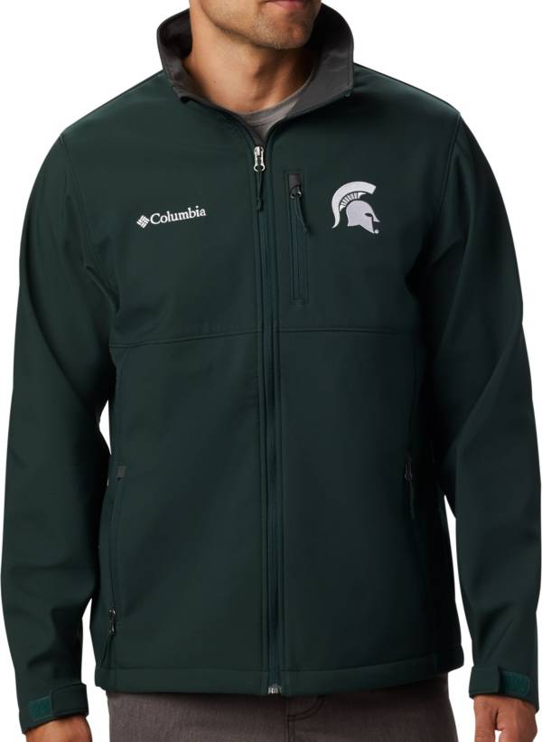 Columbia Men's Michigan State Spartans Green Ascender Jacket product image
