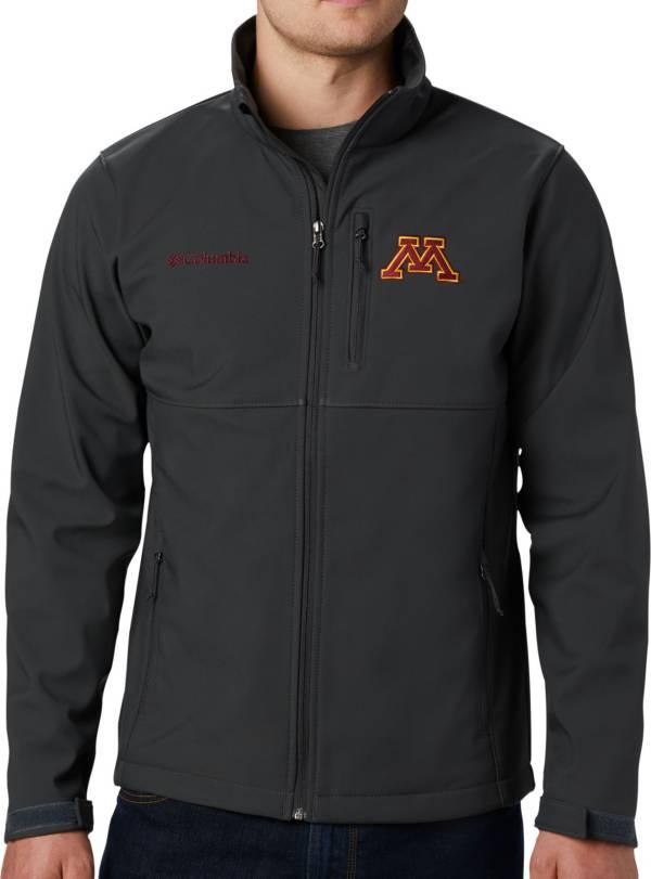 Columbia Men's Minnesota Golden Gophers Grey Ascender Jacket product image