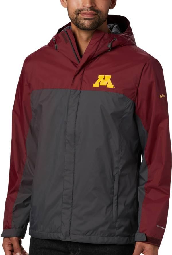Columbia Men's Minnesota Golden Gophers Maroon/Grey Glennaker Storm Jacket product image
