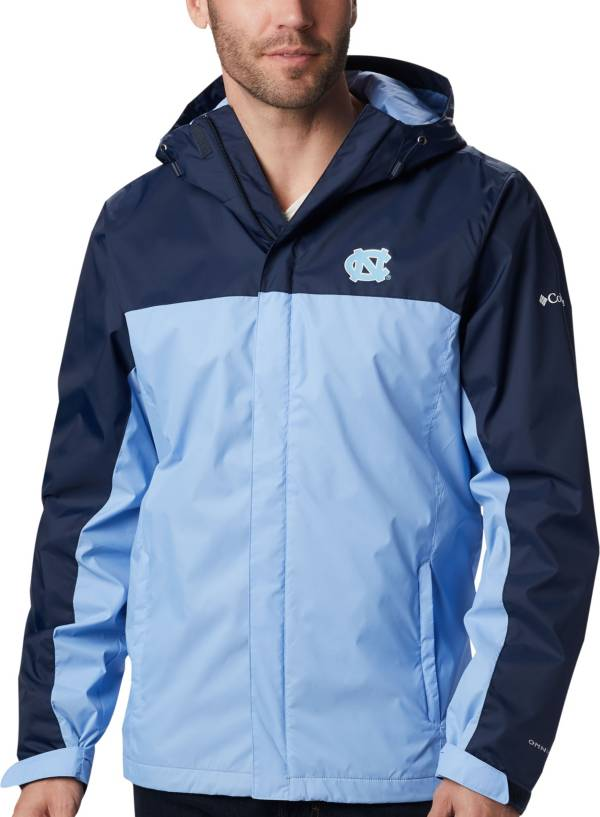 Columbia Men's North Carolina Tar Heels Navy/Carolina Blue Glennaker Storm Jacket product image