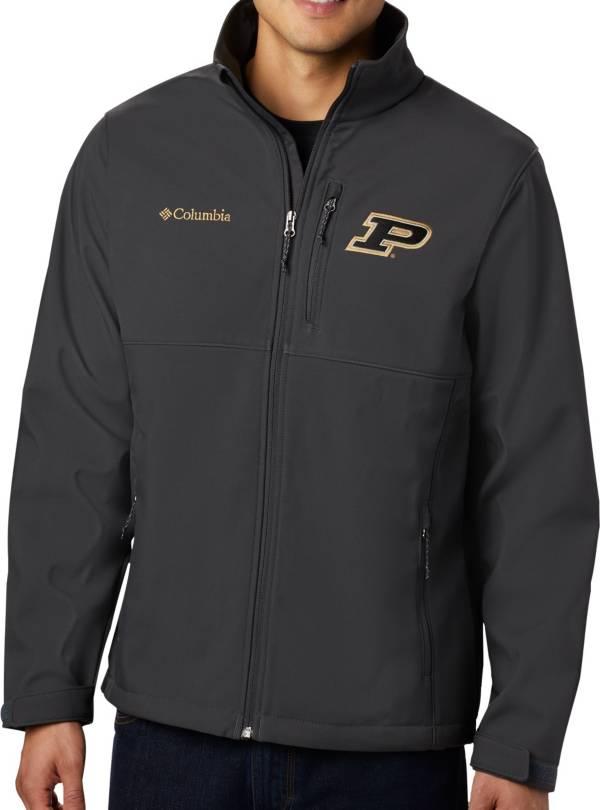 Columbia Men's Purdue Boilermakers Grey Ascender Jacket product image