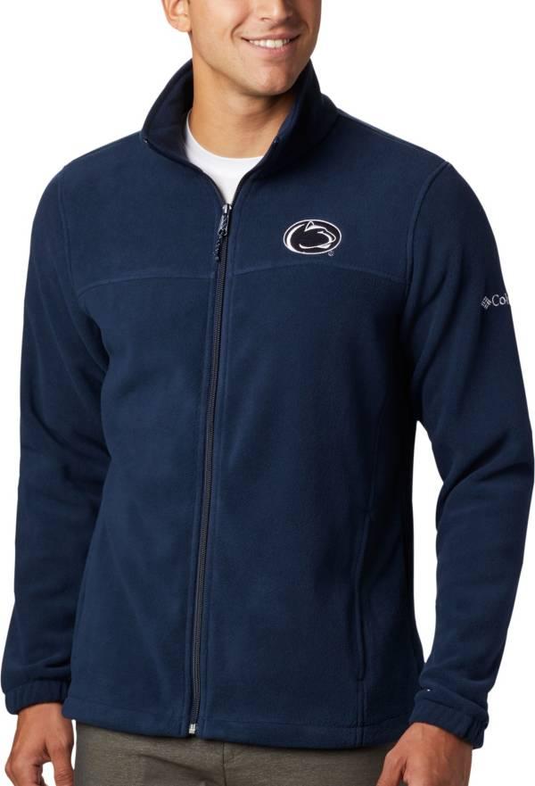 Columbia Men's Penn State Nittany Lions Blue Flanker Full-Zip Fleece Jacket product image