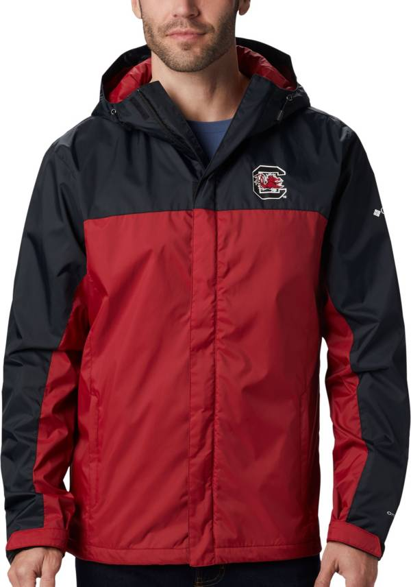 Columbia Men's South Carolina Gamecocks Black/Garnet Glennaker Storm Jacket product image