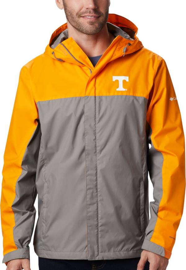 Columbia Men's Tennessee Volunteers Tennessee Orange/Grey Glennaker Storm Jacket product image