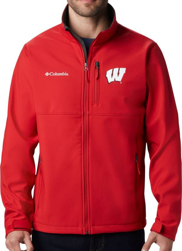 Columbia Men's Wisconsin Badgers Red Ascender Jacket product image