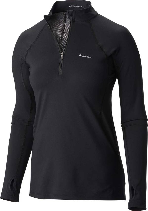 Columbia Women's Midweight Stretch Long Sleeve Half Zip Shirt product image