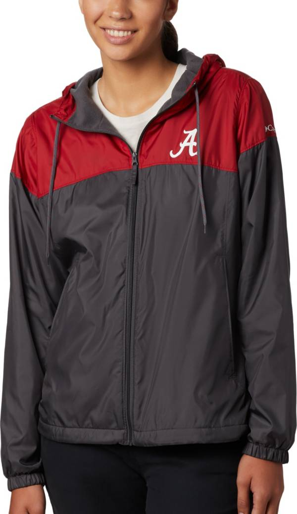 Columbia Women's Alabama Crimson Tide Red/Black CLG Flash Forward Lined Jacket product image