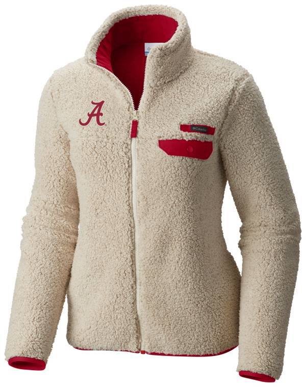 Columbia Women's Alabama Crimson Tide Mountainside Full-Zip White Jacket product image