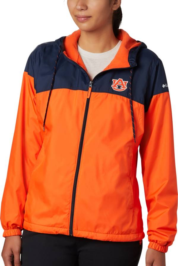 Columbia Women's Auburn Tigers Blue/Orange CLG Flash Forward Lined Jacket product image