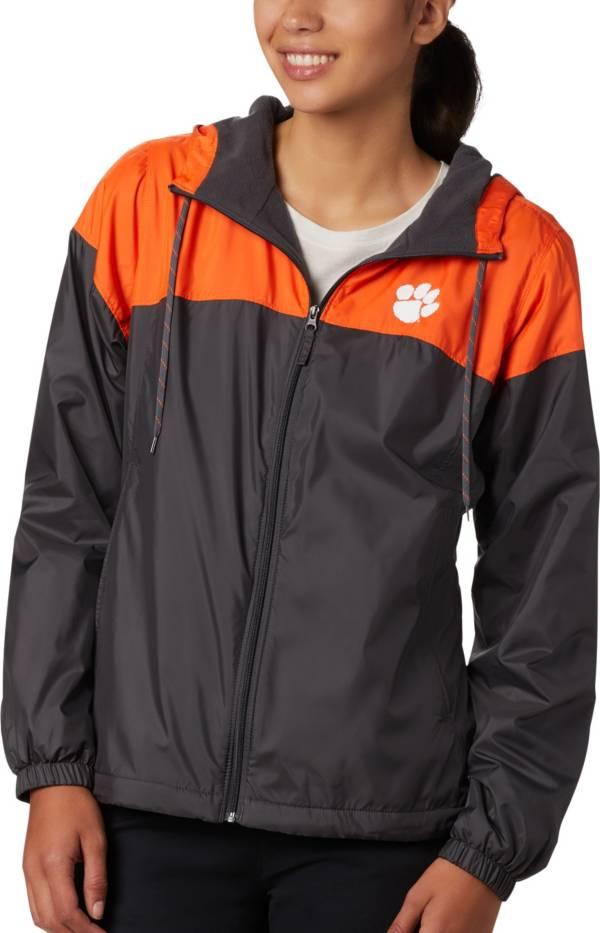 Columbia Women's Clemson Tigers Orange/Black CLG Flash Forward Lined Jacket product image