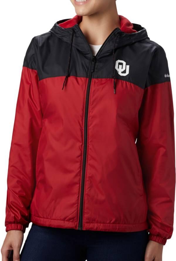 Columbia Women's Oklahoma Sooners Black/Crimson CLG Flash Forward Lined Jacket product image