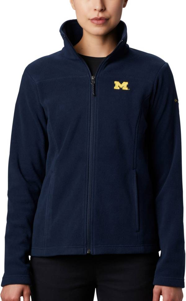 Columbia Women's Michigan Wolverines Blue Give & Go Full-Zip Jacket product image