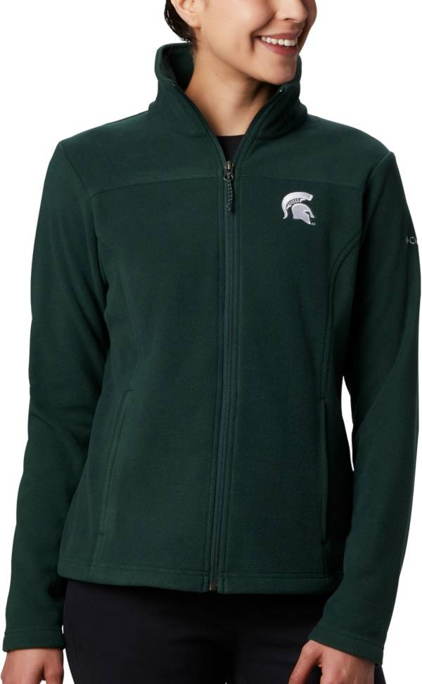 Columbia Women's Michigan State Spartans Green Give & Go Full-Zip Jacket product image