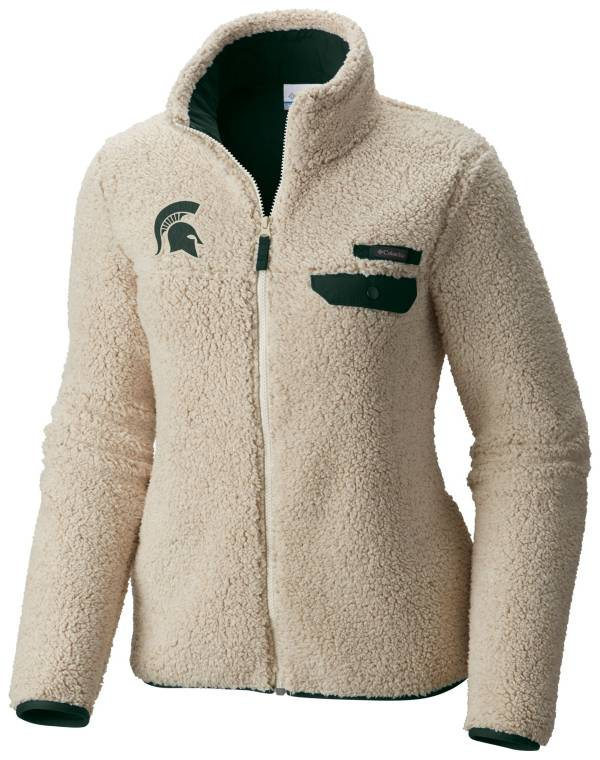 Columbia Women's Michigan State Spartans Mountainside Full-Zip White Jacket product image