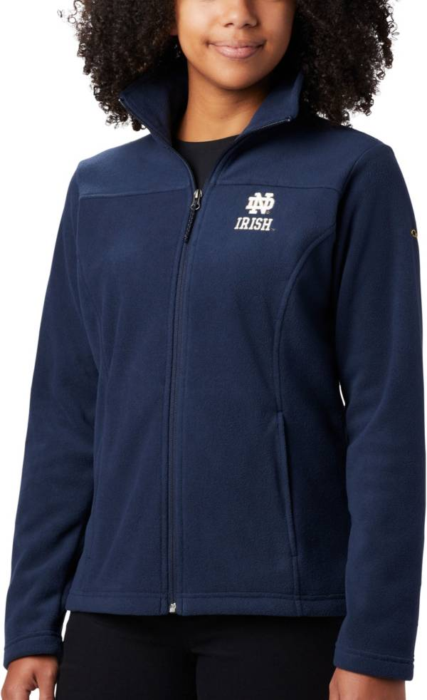 Columbia Women's Notre Dame Fighting Irish Navy Give & Go Full-Zip Jacket product image