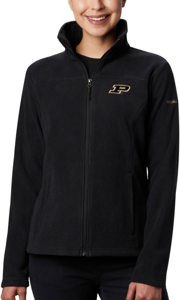Columbia Women's Purdue Boilermakers Give & Go Full-Zip Black Jacket product image