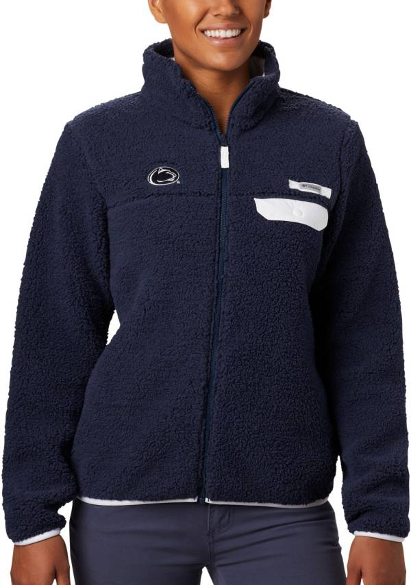 Columbia Women's Penn State Nittany Lions Blue Mountain Side Heavyweight Full-Zip Jacket product image