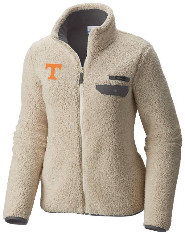 Columbia Women's Tennessee Volunteers Mountainside Full-Zip White Jacket product image