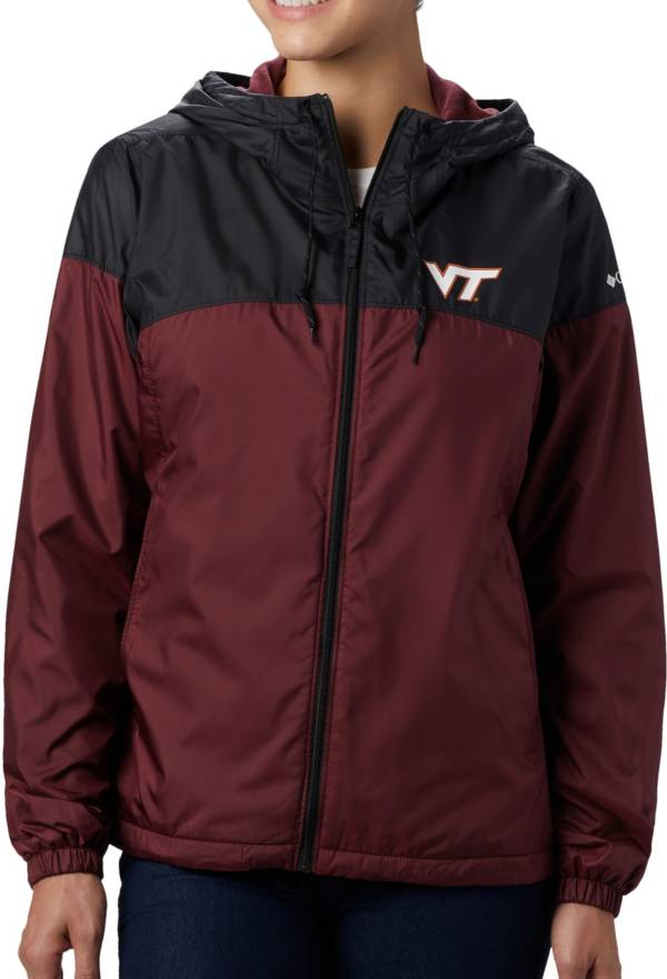 Columbia Women's Virginia Tech Hokies Black/Maroon CLG Flash Forward Lined Jacket product image