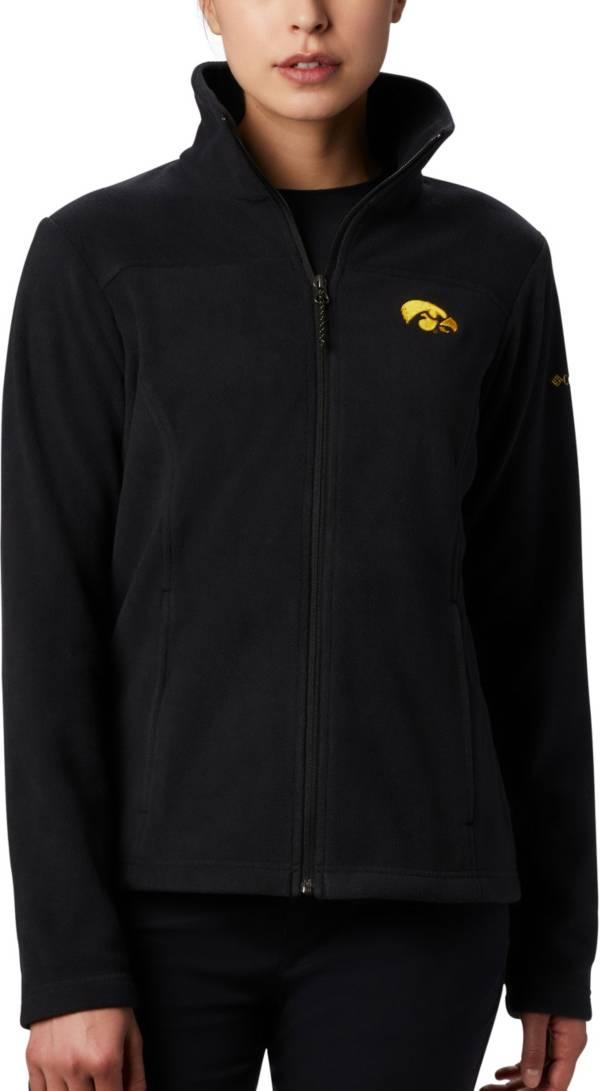 Columbia Women's Iowa Hawkeyes Give & Go Full-Zip Black Jacket product image
