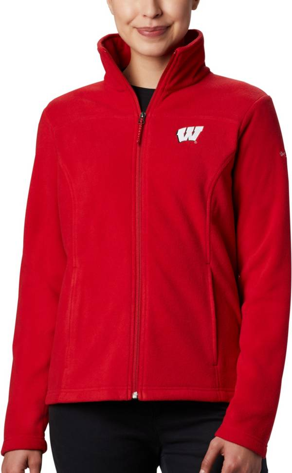 Columbia Women's Wisconsin Badgers Red Give & Go Full-Zip Jacket product image