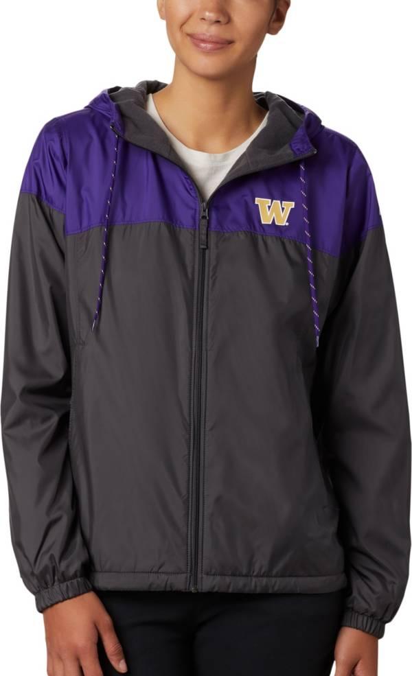 Columbia Women's Washington Huskies Purple/Black CLG Flash Forward Lined Jacket product image