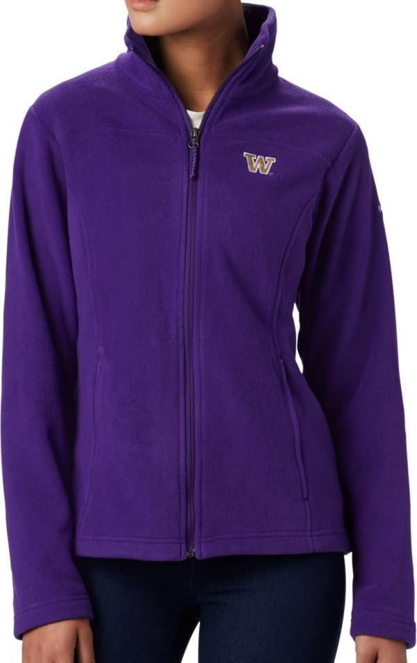 Columbia Women's Washington Huskies Purple Give & Go Full-Zip Jacket product image