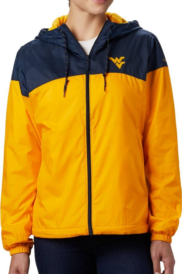 Columbia Women's West Virginia Mountaineers Blue/Gold CLG Flash Forward Lined Jacket product image