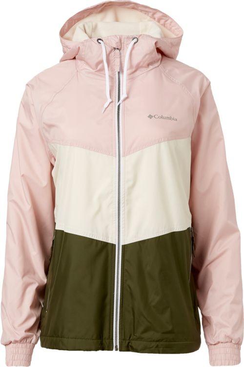 1ded91b77b92 Columbia Women s Torrey Peak Hooded Windbreaker Jacket