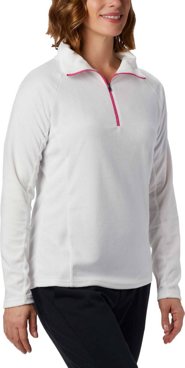 Columbia Women's Tested Tough In Pink Glacial Half Zip Pullover product image