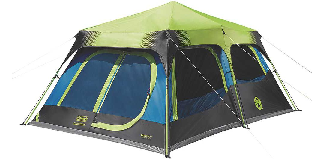 be6bc866402 Coleman 10-Person Dark Room Instant Cabin Tent | DICK'S Sporting Goods