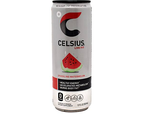 Celsius Fitness Drink Sparkling Watermelon 12-Pack product image