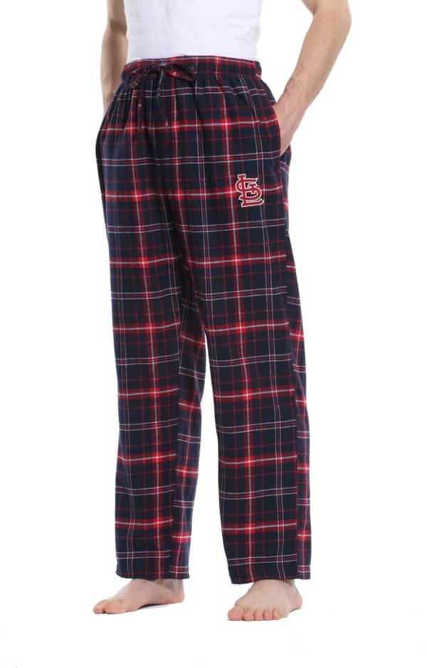 Concepts Sport Men's St. Louis Cardinals Ultimate Plaid Flannel  Pajama Pants product image