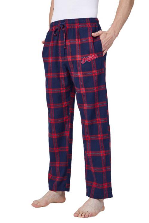 1af126f8cb7 Concepts Sport Men's Cleveland Indians Plaid Flannel Pajama Pants | DICK'S  Sporting Goods