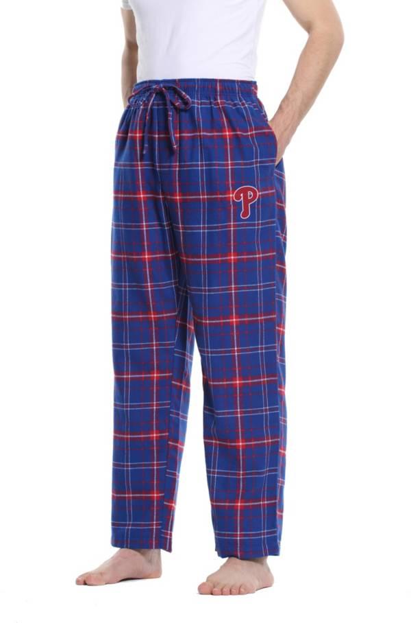 Concepts Sport Men's Philadelphia Phillies Plaid Flannel Pajama Pants product image