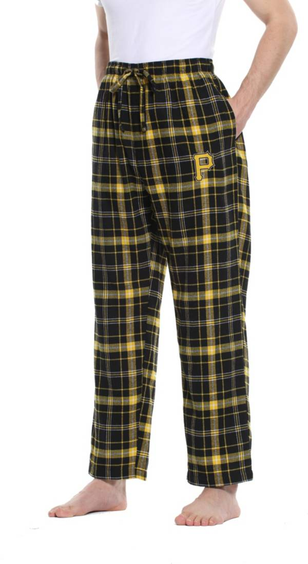Concepts Sport Men's Pittsburgh Pirates Plaid Flannel Pajama Pants product image