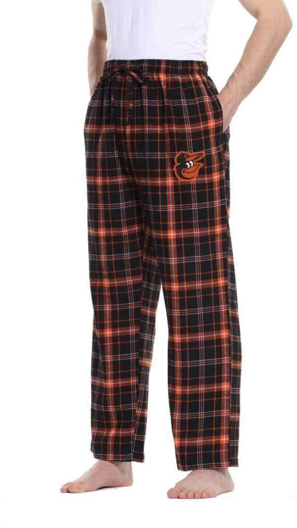 Concepts Sport Men's Baltimore Orioles Ultimate Plaid Flannel  Pajama Pants product image