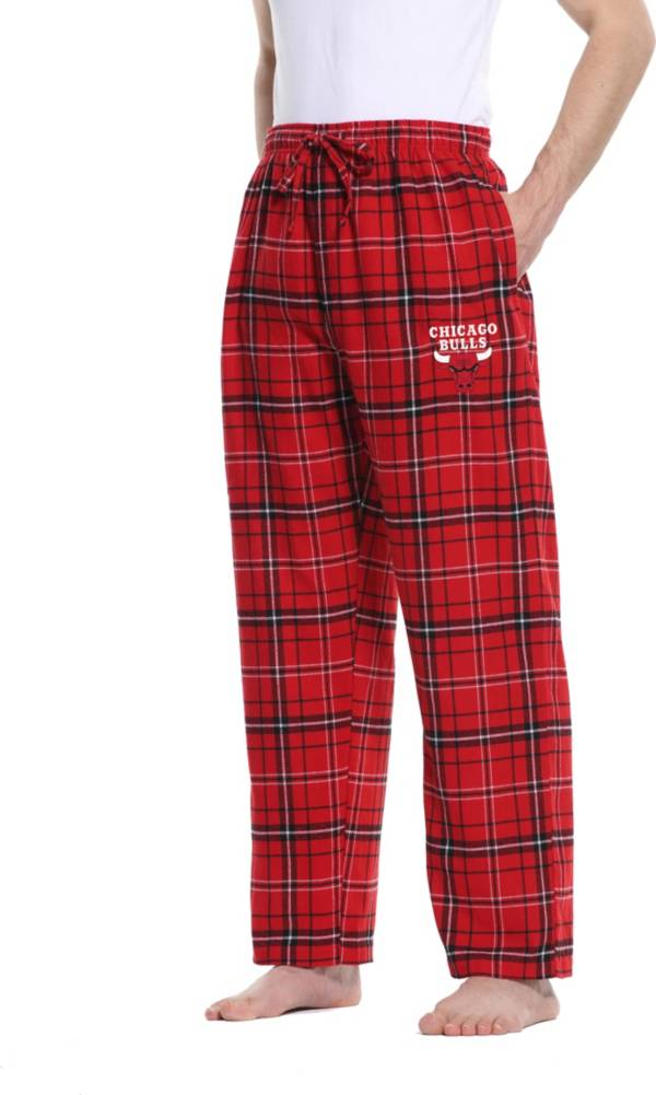 Concepts Sport Men's Chicago Bulls Ultimate Plaid Flannel  Pajama Pants product image